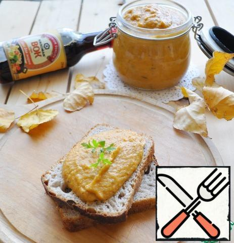 Serve vegetable caviar chilled on toast, bread, etc. Bon appetit!