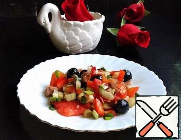 Salad with Olives Recipe