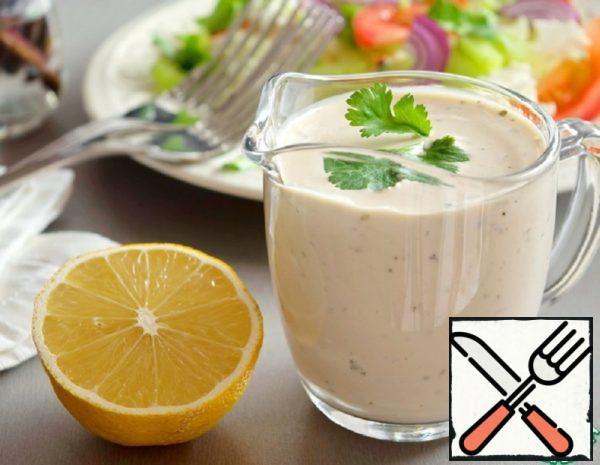 Yogurt Dressing for Salads Recipe