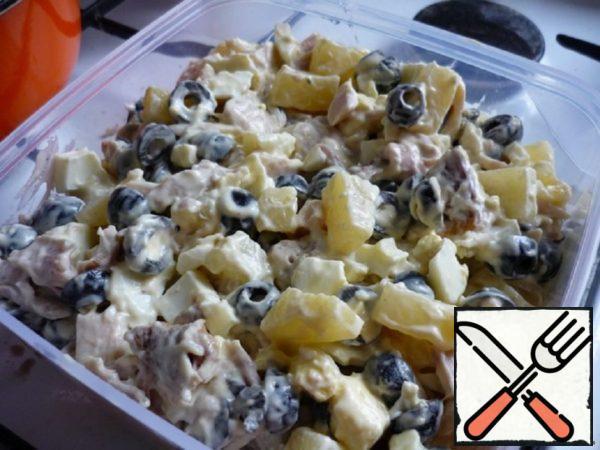 Salad with Pineapple Recipe