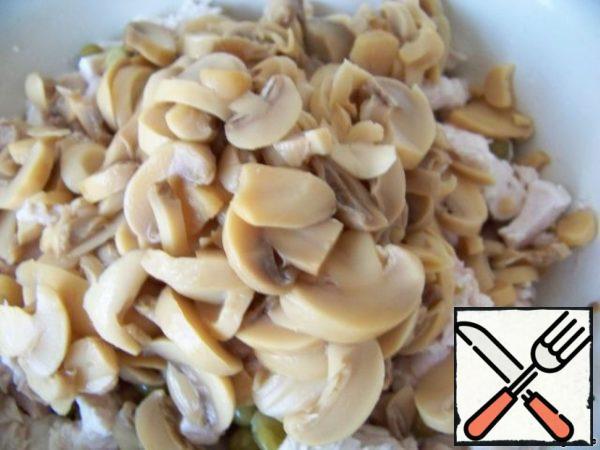 Add mushrooms.