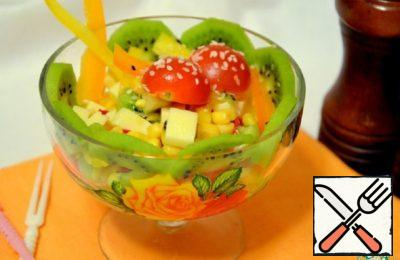 Salad with Kiwi Recipe