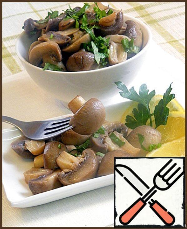 Mushrooms in Wine Sauce Recipe