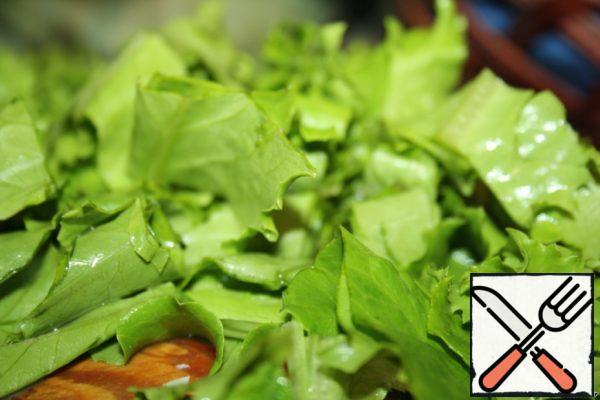 Lettuce to break it.