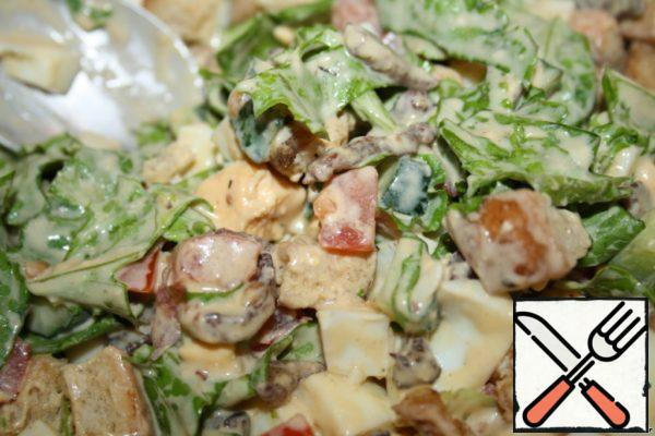 Salad with Pork Recipe