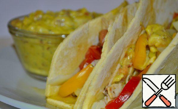 Seafood Tacos with Salsa Sauce Recipe