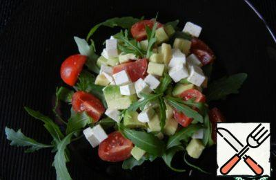 Salad with Avocado Recipe