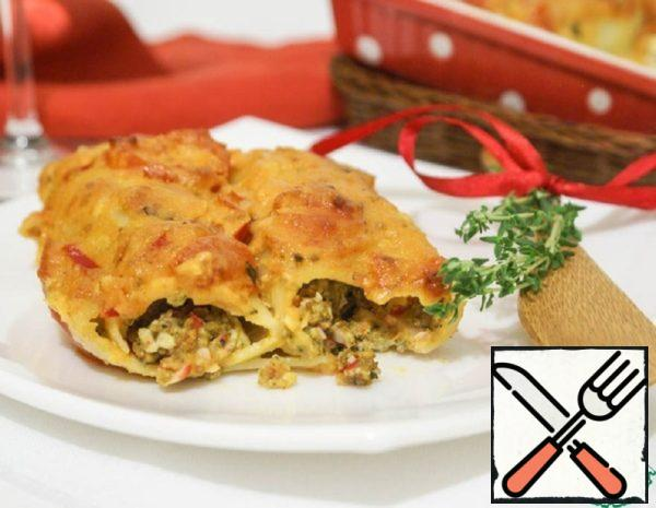 Cannelloni with Seafood Recipe