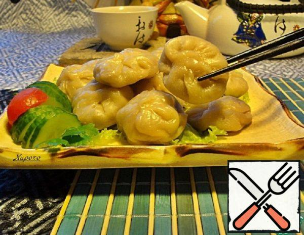 Dim Sum with Seafood Recipe