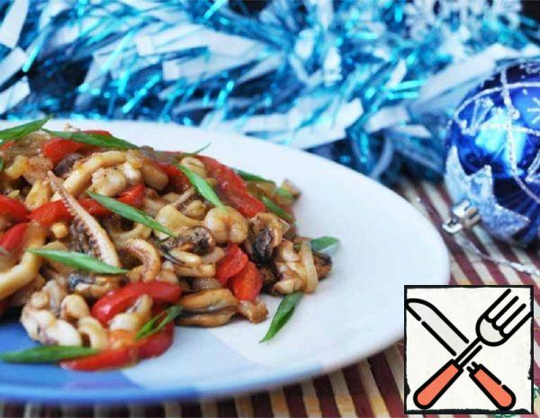 Chinese Style Seafood Snack Recipe