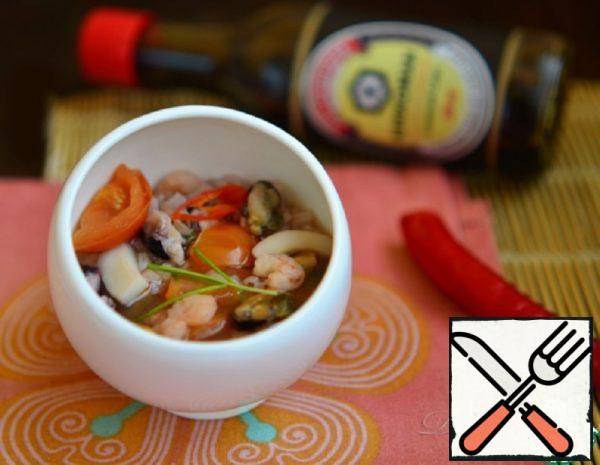 Traditional Chinese Seafood Soup Recipe