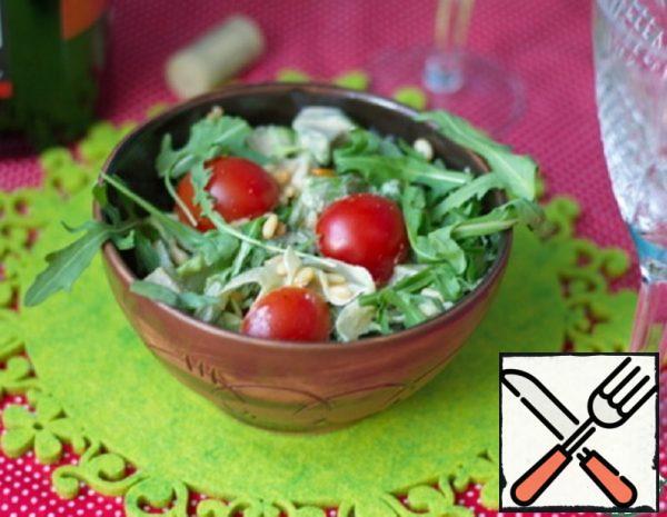 Avocado and Arugula Salad Recipe