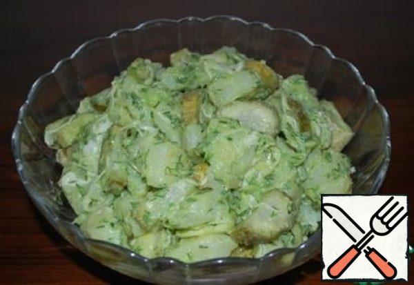 Potatoes  Salad Recipe