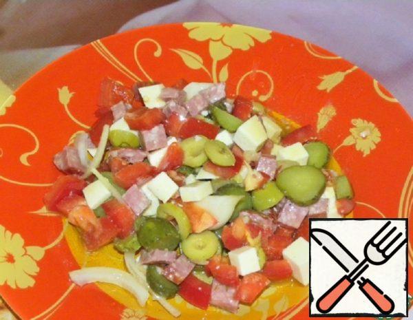 Salad Snack Recipe