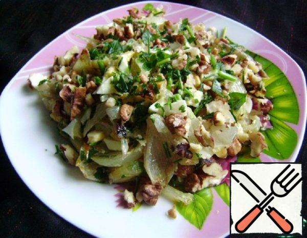 Onion Salad Recide