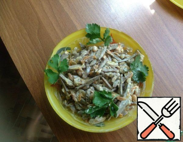 Salad with Liver Recipe