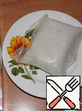 Rice boil until tender.