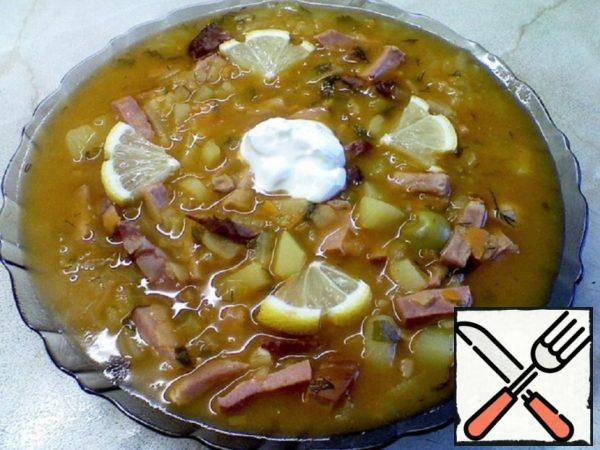 Solyanka Homemade Recipe