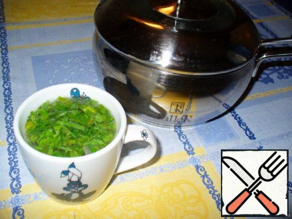 Chicken Broth with Greens Recipe