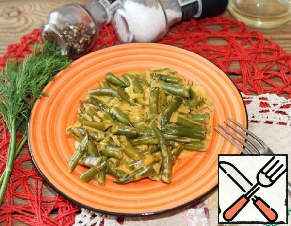 String Beans in Flour Sauce Recipe