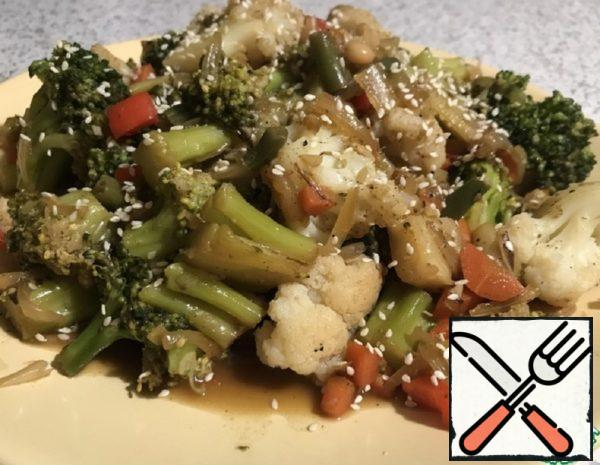 Preparation of Vegetable Garnish Recipe