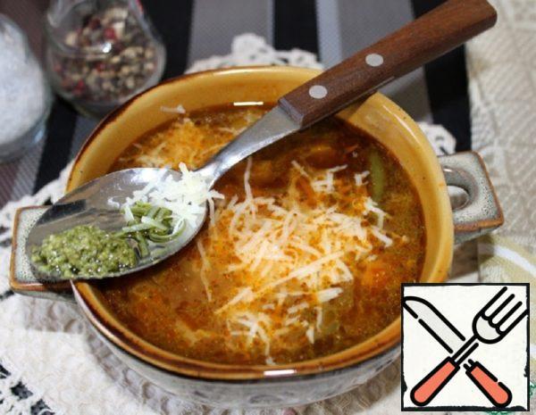 "Provencal Soup ""Pistou"" Recipe"