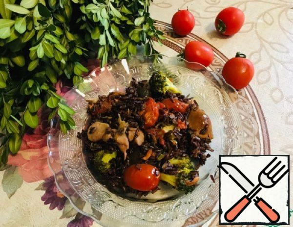 Wild Rice with Vegetables Recipe