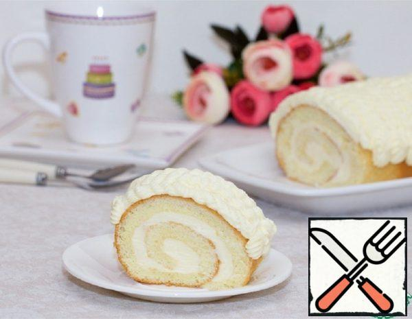 A Good Sponge for Sweet Roll Recipe