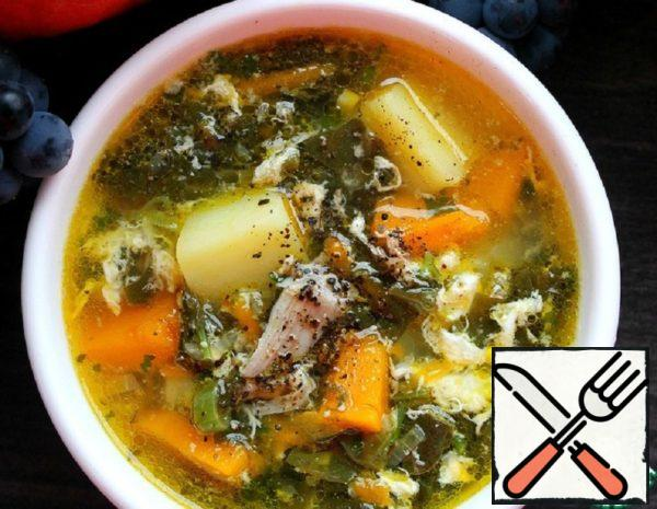 Soup with Sorrel and Pumpkin Recipe