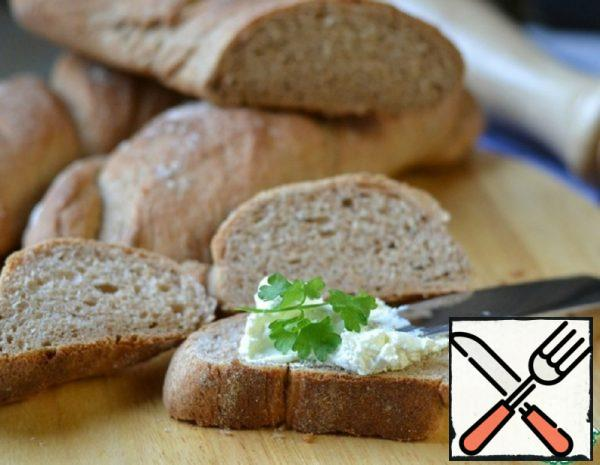 Mini Baguettes with Cream Cheese Recipe