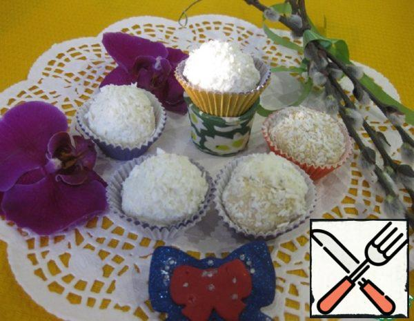 "Delicate Dessert ""Curd Balls"" Recipe"