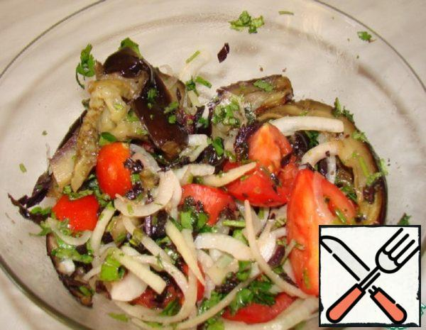 Salad to Meat Recipe
