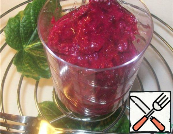 Salad of Beets and Potatoes in Finnish Recipe