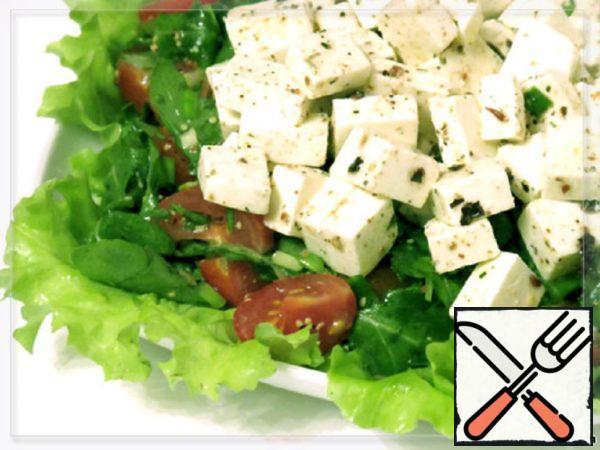Salad with Feta Cheese Recipe