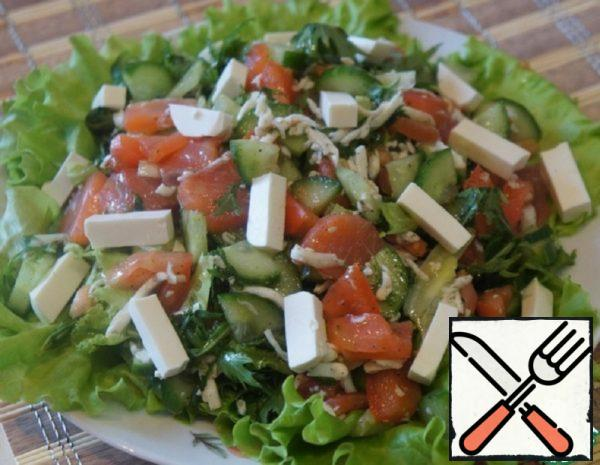 Trout Salad with Feta Recipe