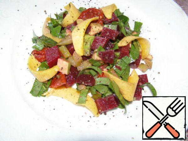 Salad with Beet and Avocado Recipe