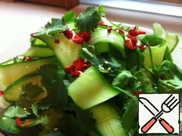 Salad with Cucumber Recipe