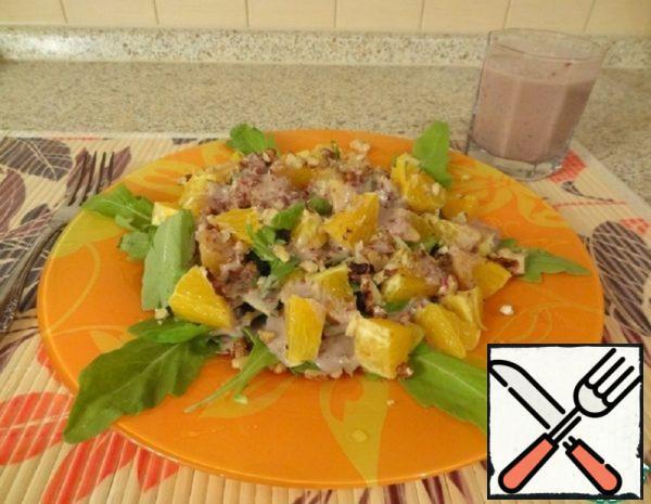 Vegetarian Salad  Recipe
