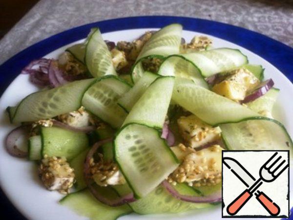 """Salad """"Cucumber Delight"""" Recipe"""