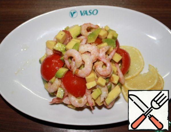 Avocado Salad with Shrimp Recipe