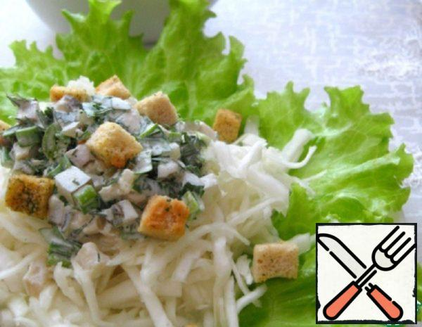 Salad with Cabbage Recipe