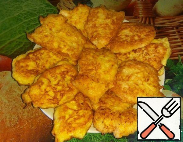 Chops in Potato-Carrot Tempura Recipe
