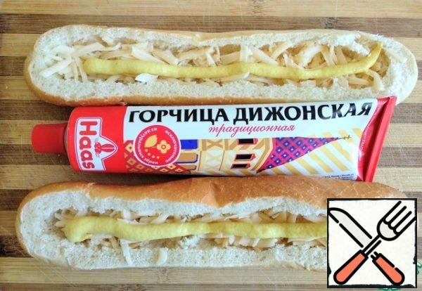 Add Dijon mustard.