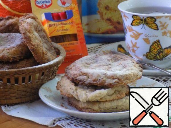 Almond Oatmeal Cookies Recipe
