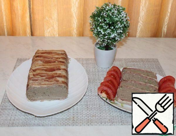 Chicken Liver Terrine with Bacon Recipe