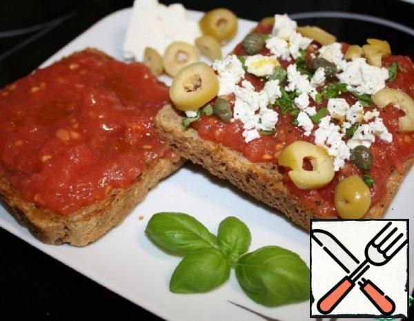 Sandwiches in Cretan and in Spanish Recipe