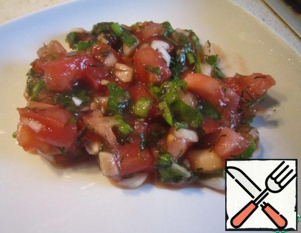 Vegetable Hot Sauce for Meat Recipe