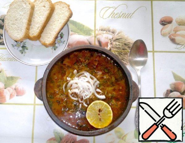 Solyanka in Georgian Recipe