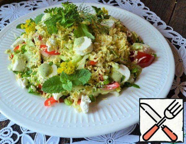 "Salad ""Bright Spring"" Recipe"
