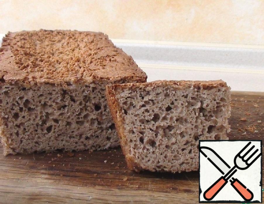 Homemade Gluten Free Buckwheat Bread Recipe